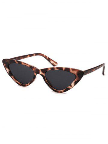 7aeebf1aa3c9 28% OFF] Metal Bar Embellished Cat Eye Sunglasses | Rosegal
