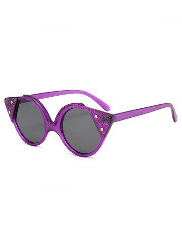 Round Star Catty Eye Sunglasses