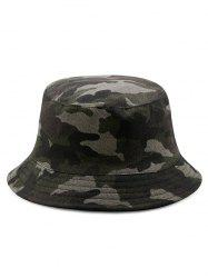 Disruptive Pattern Cotton Bucket Hat -