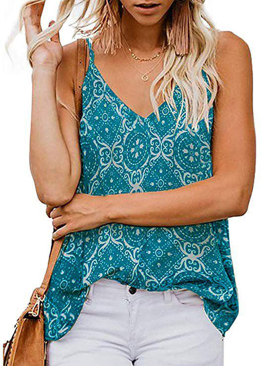 Sale Flower Double V Camisole