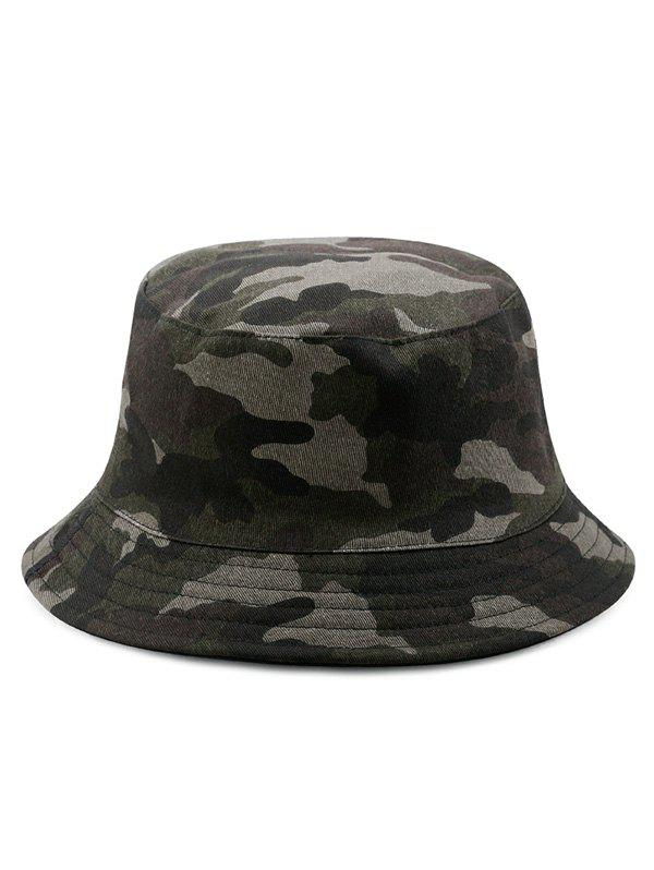 Outfits Disruptive Pattern Cotton Bucket Hat