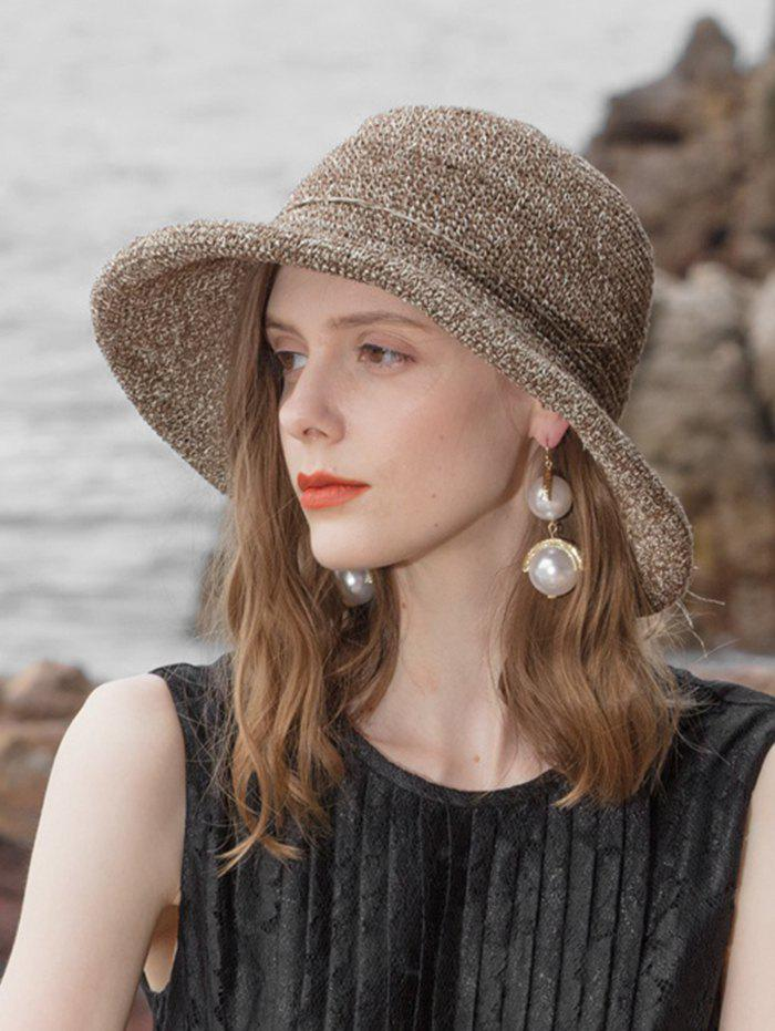Outfits Foldable Floppy Straw Weaving Sun Hat