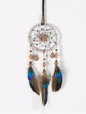 f9fe779f886 Feathers Shell Handmade Indian Dream Catcher