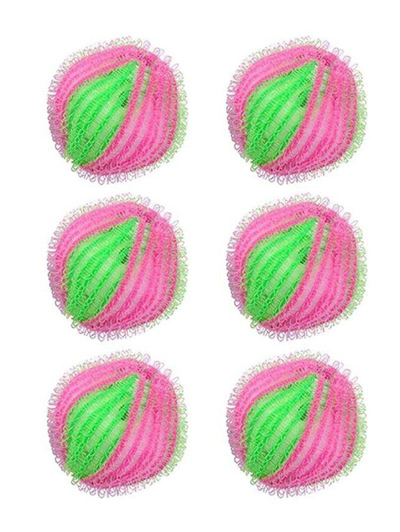 Store 6Pcs/Set Magic Hair Removal Laundry Ball Clothes Washing Machine Ball Cleaning Ball