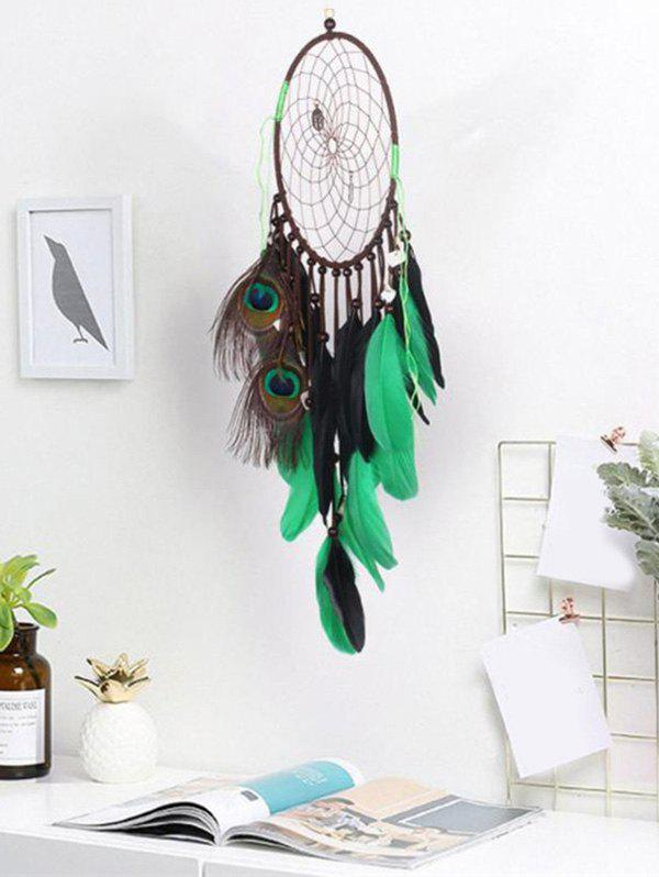 Home Decoration Handmade Feather Fringed Dream Catcher