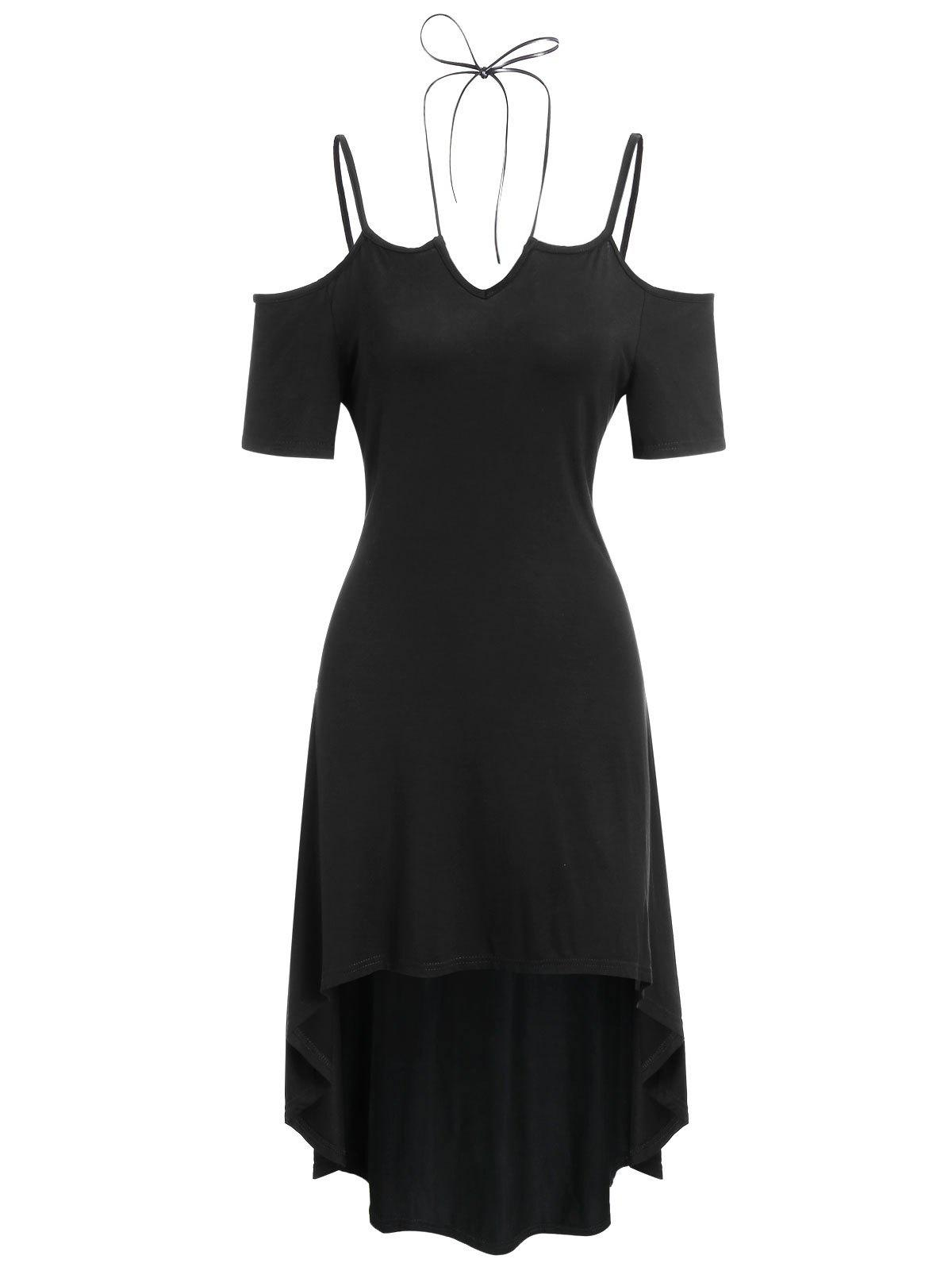 Best Strappy High Low Casual Midi Dress