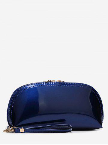 Simple Patent Leather Clutch Bag
