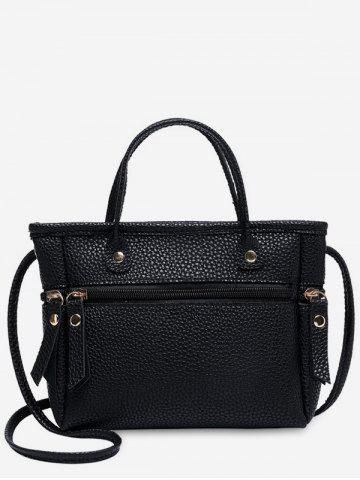 Small Zipper Cross Body Bag