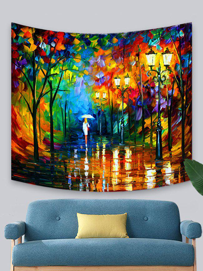 Abstract Forest Character Print Tapestry Wall Hanging Art Decoration