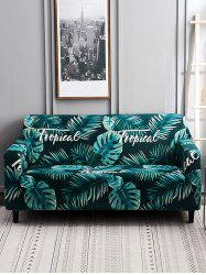 Banana Leaf Print Couch Cover -