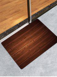 Wooden Decoration Floor Mat -