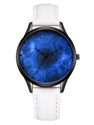 Galaxy Black Hole Quartz Watch -