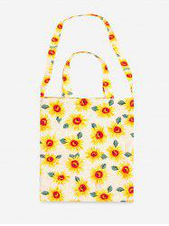 Cotton Flower Pattern Shoulder Bag -