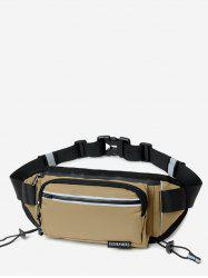 Outdoors Pockets Design Oxford Fabric Waist Bag -