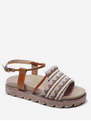 Tribal Printed Design Sandals -