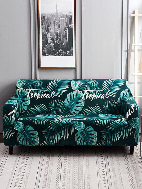 Outfit Banana Leaf Print Couch Cover