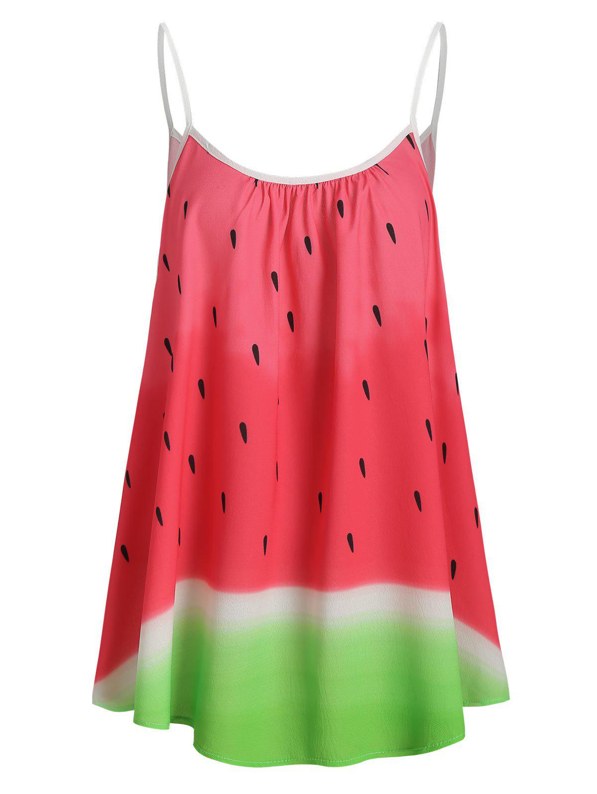 Outfits Plus Size Watermelon Print Cami Top