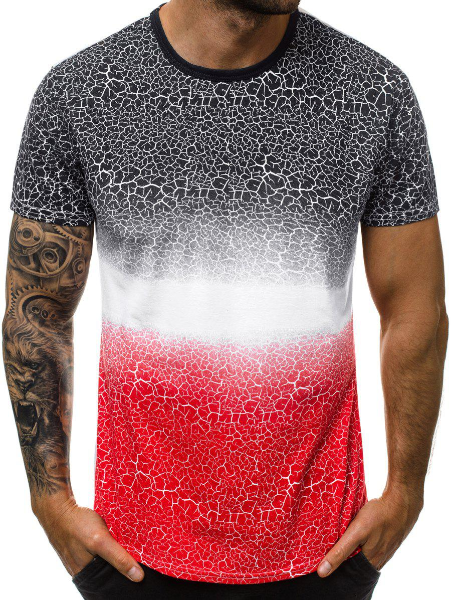 Shop Gradient Printed Crew Neck T Shirt