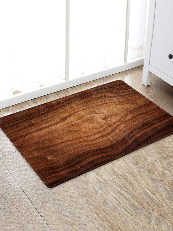 Outfit Home Decoration Wood Grain Anti-Slip Rug