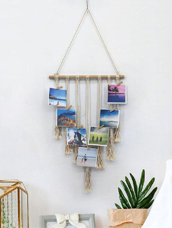 Affordable Tassel Design Woven Wall Hanging