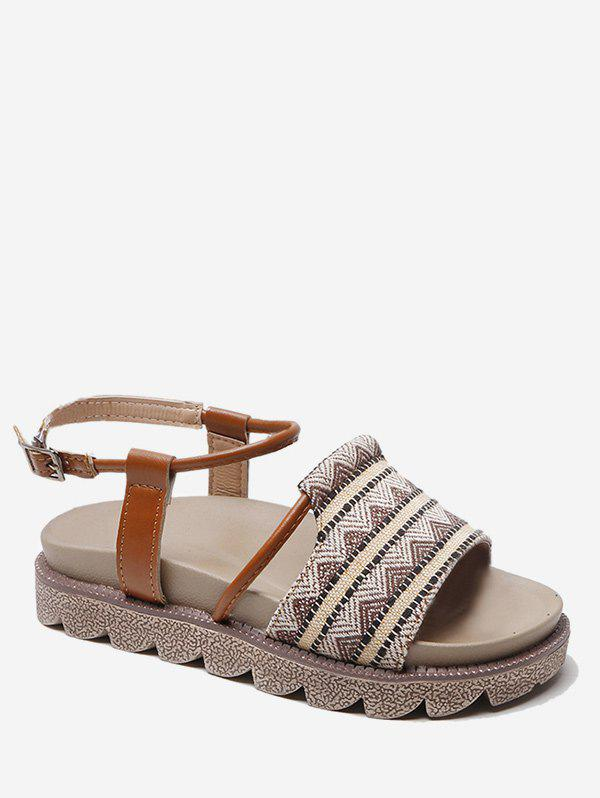 Outfit Tribal Printed Design Sandals