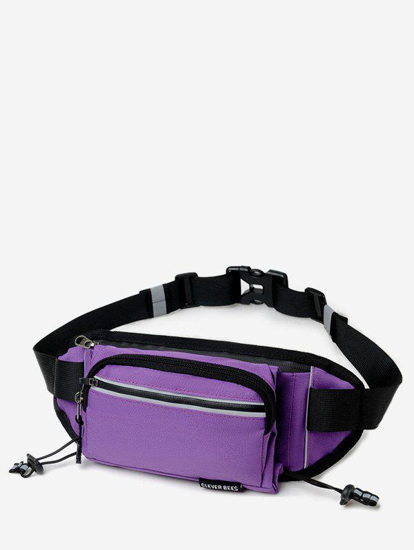 Affordable Outdoors Pockets Design Oxford Fabric Waist Bag