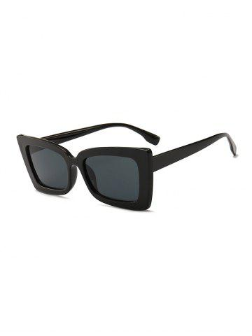 Wide Rim Rectangle Sunglasses