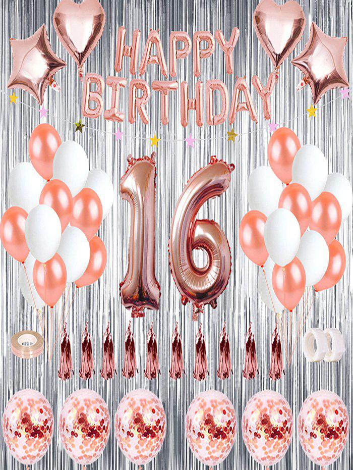 Affordable 16th Birthday Balloon Decorations Set