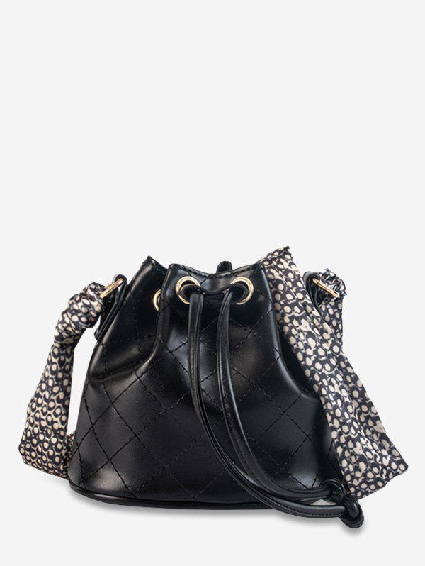 Sale Scarf Decor Quilted Bucket Bag