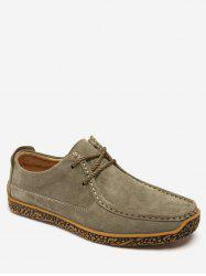 Moc Toe Suede Comfortable Shoes -
