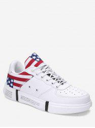 Letter Star Print Casual Sport Sneakers -