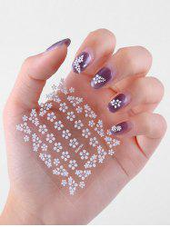 30Pcs Small Flower 3D Nail Stickers -