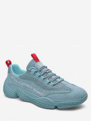 Solid Color Breathable Athletic Sneakers -
