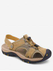 Closed Toe Patch Hiking Sandals -