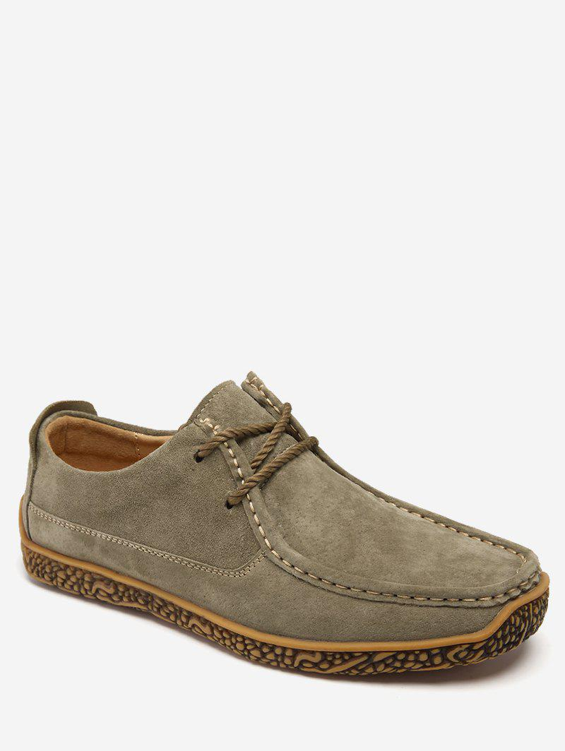Trendy Moc Toe Suede Comfortable Shoes