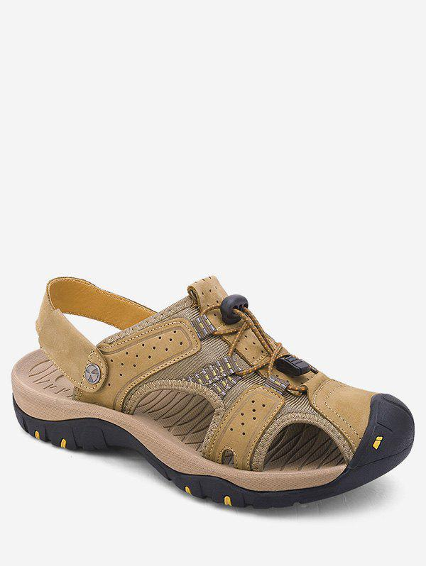 Fashion Closed Toe Patch Hiking Sandals