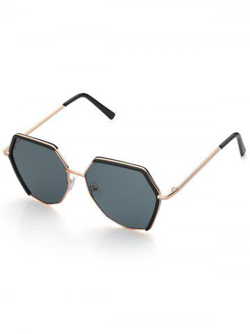 Street Metal Irregular Sunglasses