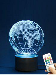 The Earth Shape Color Changing LED Night Light -