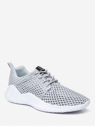 Sheer Mesh Breathable Running Sneakers -