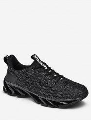 Fish Scale Design Casual Sport Shoes -