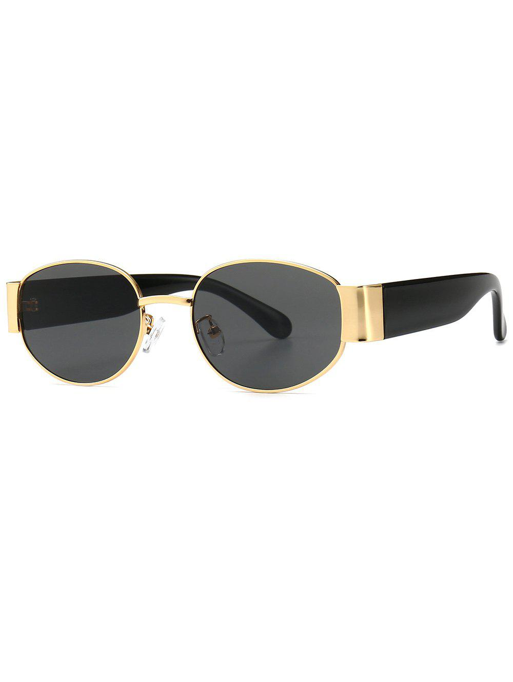 Outfit Punk Style Oval Shape Sunglasses