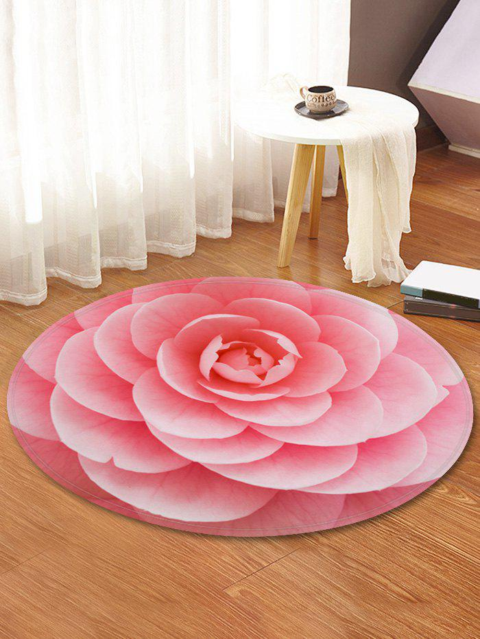 Latest Flower Design Round Floor Mat