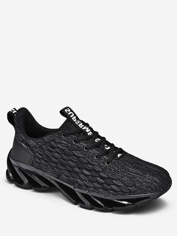 Cheap Fish Scale Design Casual Sport Shoes