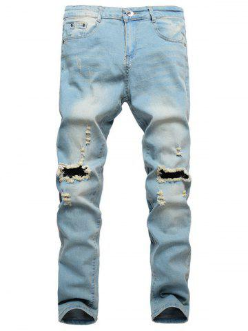 Destroy Decoration Casual Style Jeans