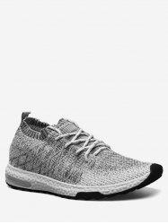 Casual Breathable Knit Sneakers -