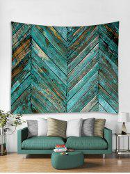 Old Plank Wall Print Art Decoration Wall Tapestry -