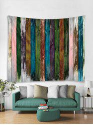 Paint Plank Print Art Decoration Wall Tapestry -