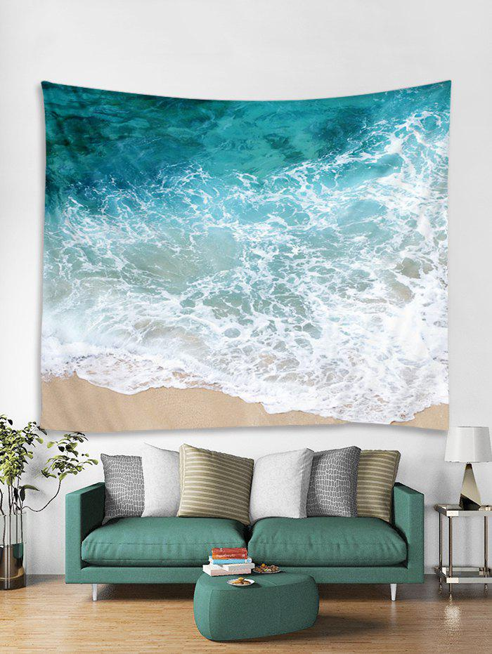 Chic Beach Sea Digital Printed Wall Tapestry