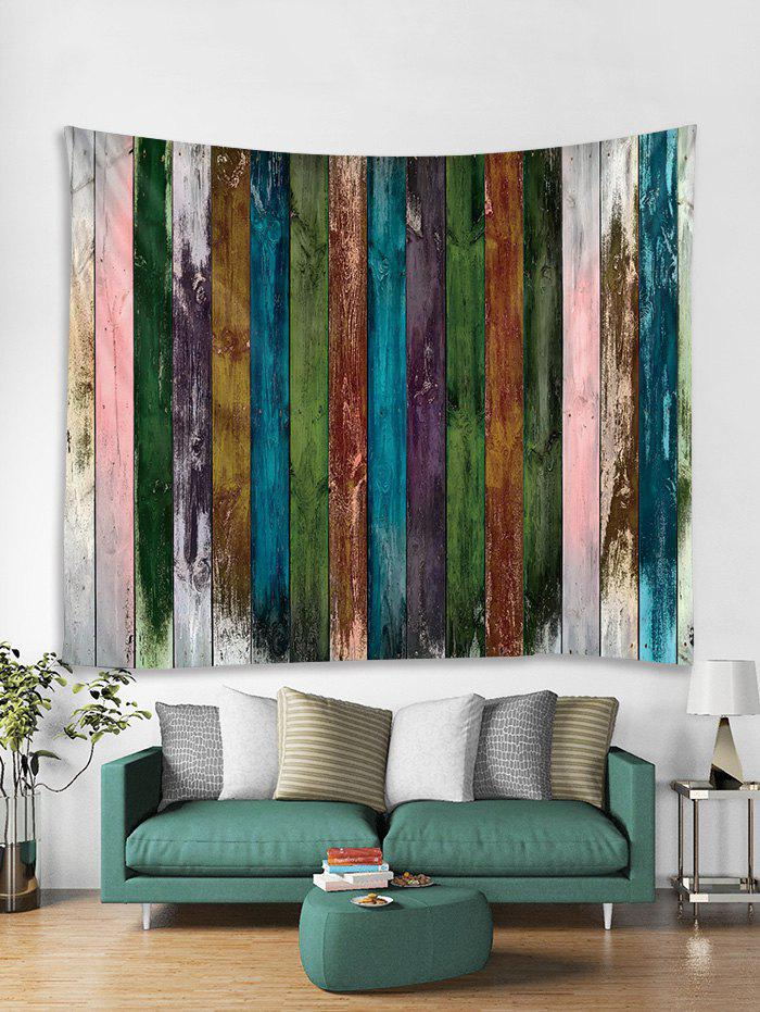 Online Paint Plank Print Art Decoration Wall Tapestry