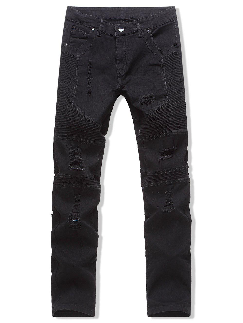 Affordable Leisure Style Destroy Design Jeans